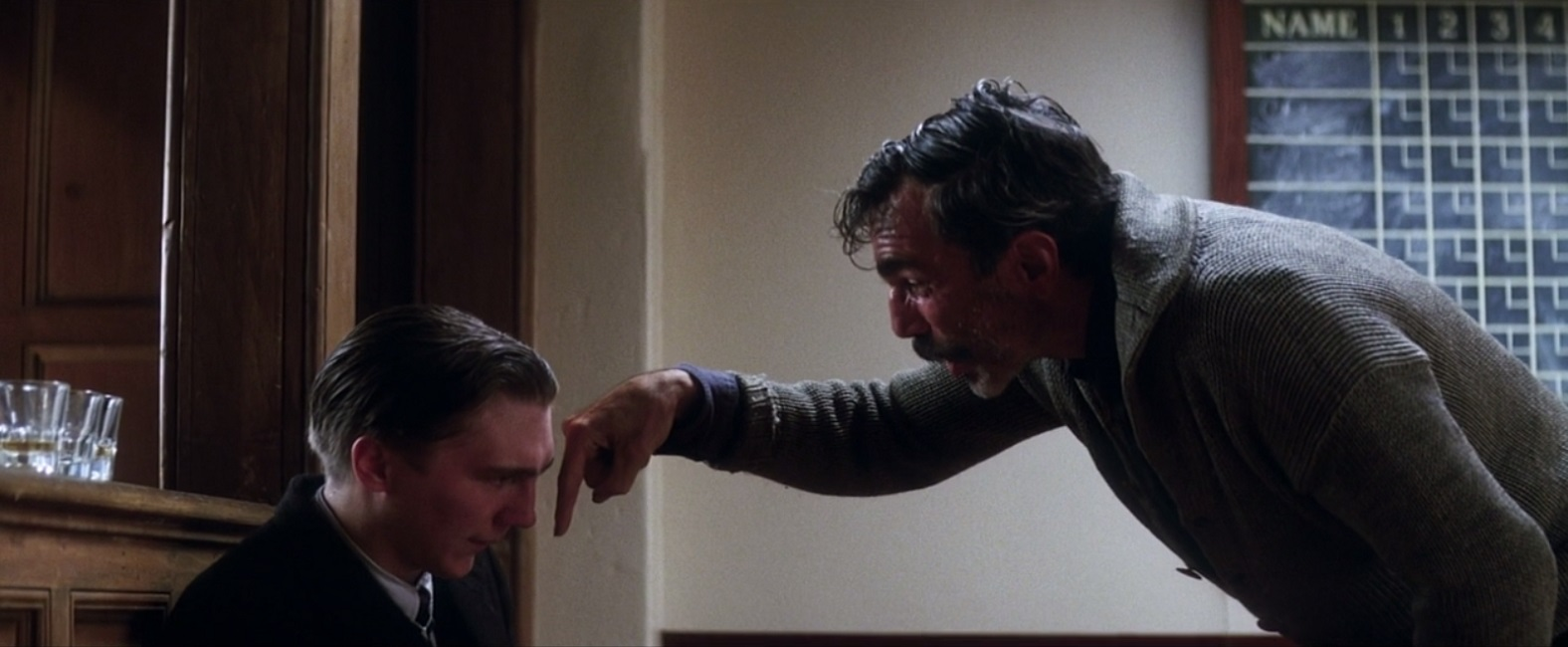Daniel Day-Lewis & Paul Dano in There Will Be Blood