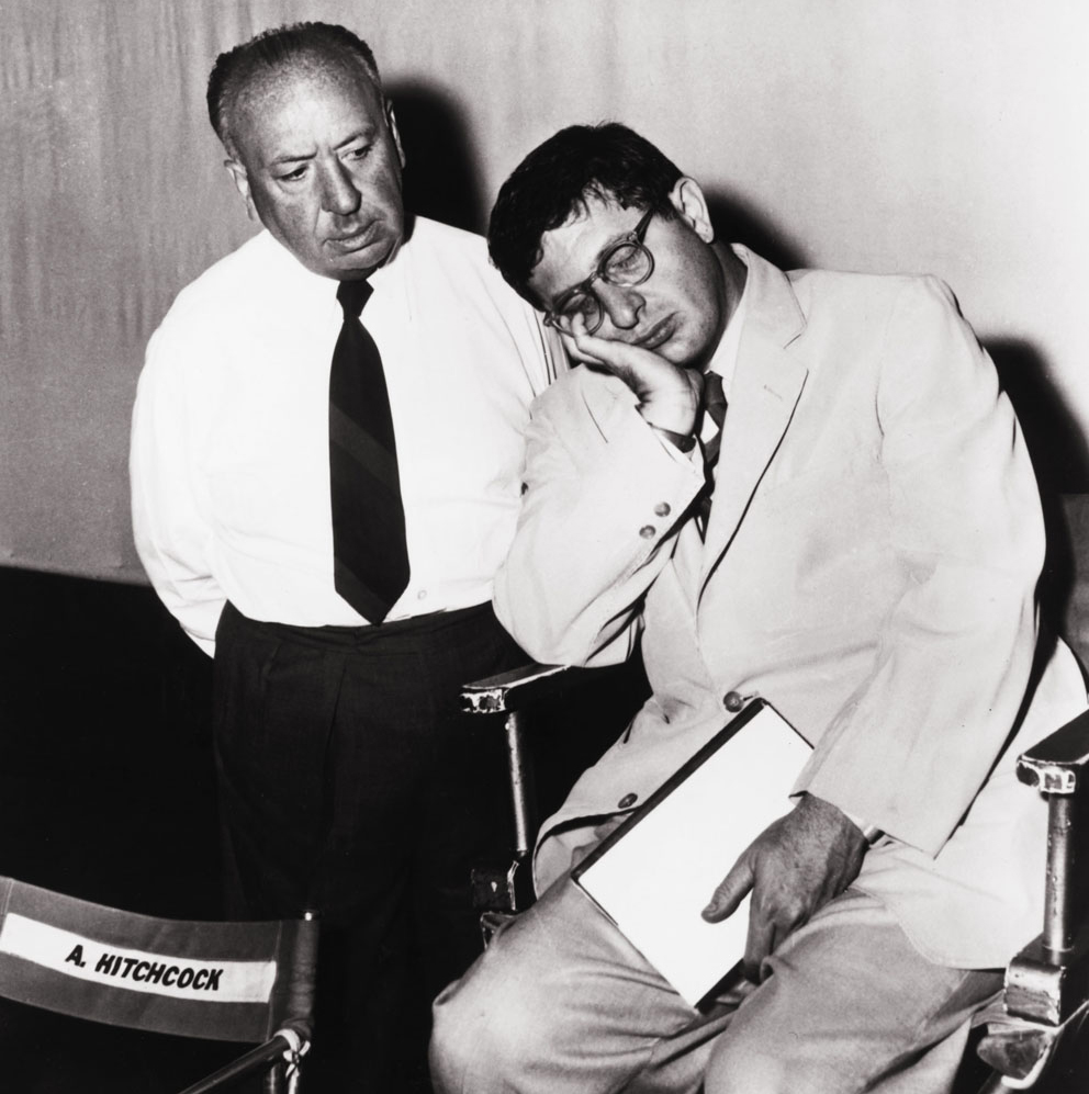 Alfred Hitchcock and Bernard Herrmann