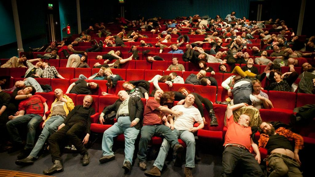 Dead By Dawn Audience at Filmhouse