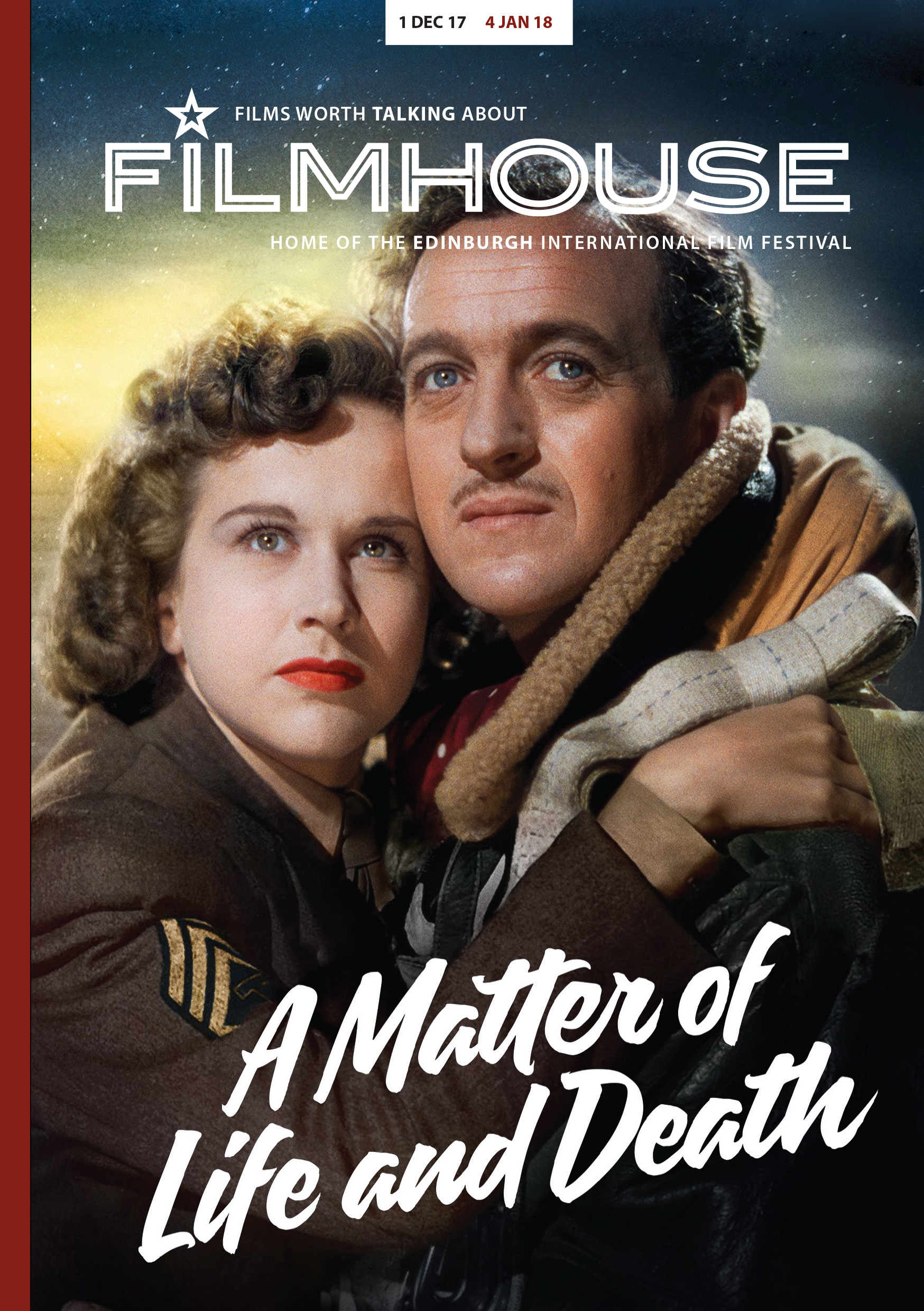 Filmhouse November 2017 brochure cover
