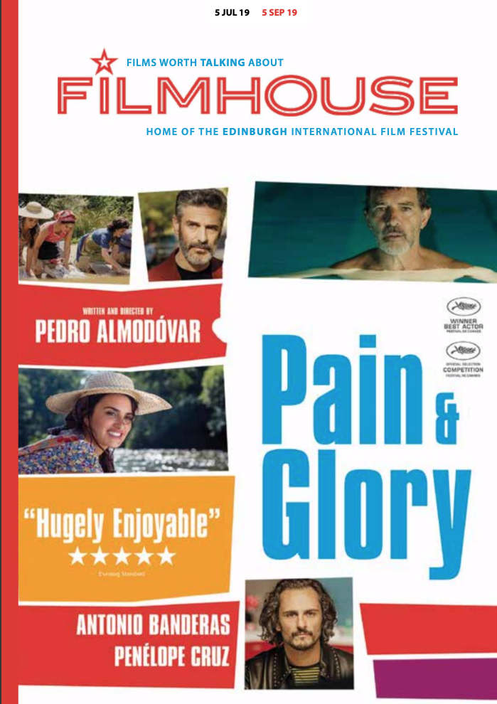Cover of Filmhouse Brochure July to September