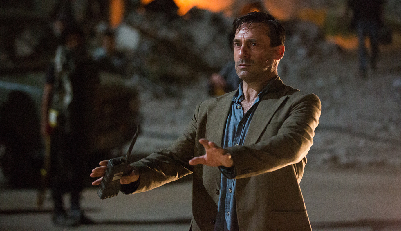 Jon Hamm in The Negotiator Beirut