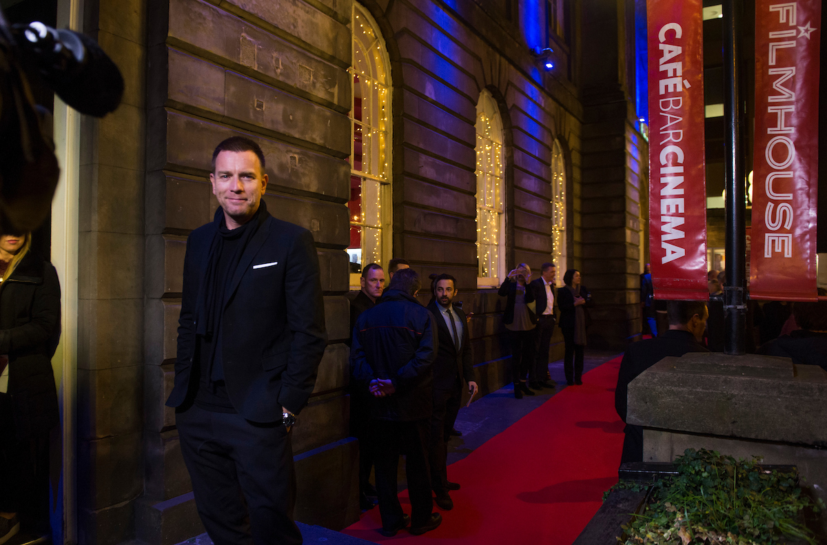 Ewan McGregor arrives for the Premiere of American Pastoral, November 2016
